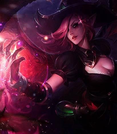 League Legends Morgana Witch Gifs Skins Platform