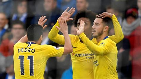 Football news - Chelsea get past Brighton thanks to early ...