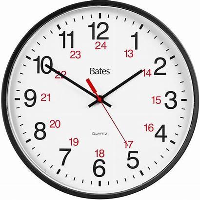 Clock Hour Analog Wall Quartz Bates Clocks