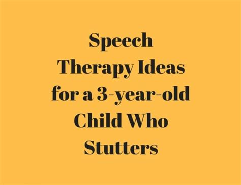 stuttering therapy activity ideas speech and language 688 | Speech Therapy Ideas for a 3 year old Child Who Stutters 500x383