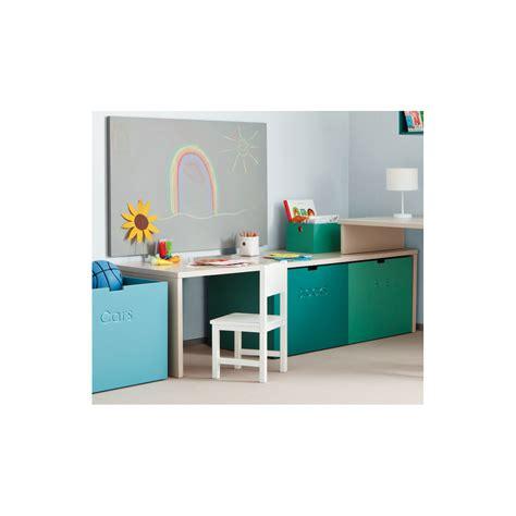 bureau de caisse premier petit bureau enfant avec caisses de rangement