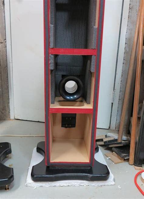 diy speaker project underway