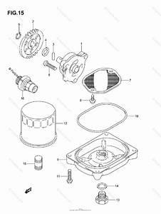 Suzuki Atv 2006 Oem Parts Diagram For Oil Pump