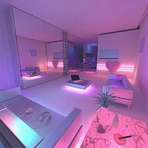 Neon Deco Chambre : e p o c h dream theme pinterest n on chambres et int rieur ~ Teatrodelosmanantiales.com Idées de Décoration