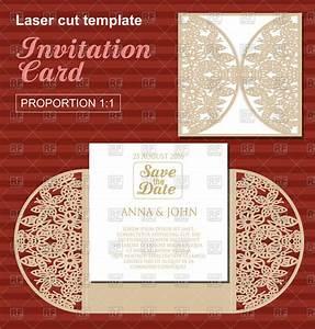 die laser cut wedding card template wedding invitation With laser cut wedding invitations download