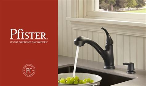 Pfister Shelton Pull Out Kitchen Faucet with Soap Pump
