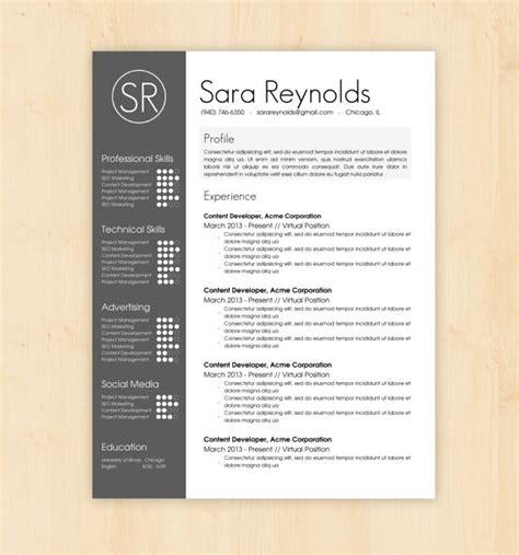 basic resume template docx files resume template cv template the sara reynolds by phdpress