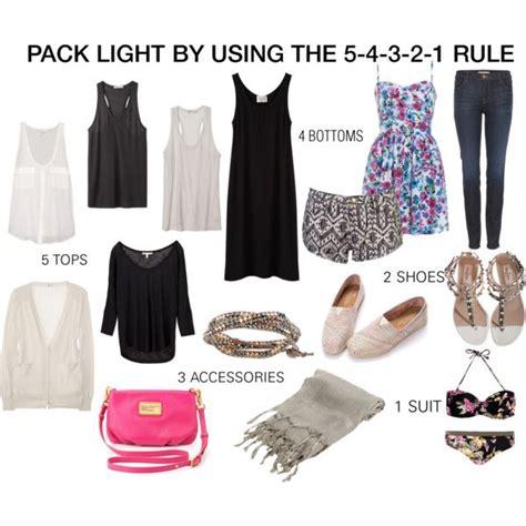 packing light for travel pack light using the 5 4 3 2 1 rule 5 tops 4 bottoms 3