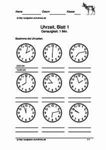 Zeitspannen Berechnen Grundschule : uhrzeit bungsbl tter kostenlos klasse 2 3 4 ~ Themetempest.com Abrechnung