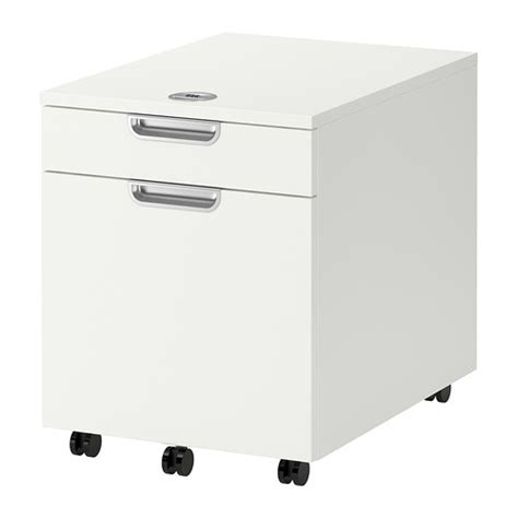 galant drawer unit drop file storage white ikea