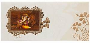 indian wedding invitation with 3d ganesha floral With hindu wedding invitations with ganesh