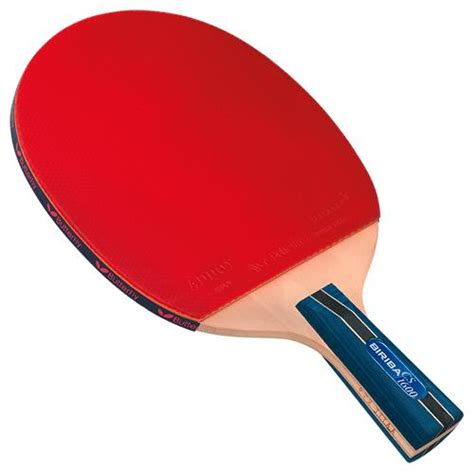 best chinese table tennis rubber butterfly biriba cs 1600 preassembled racket chinese