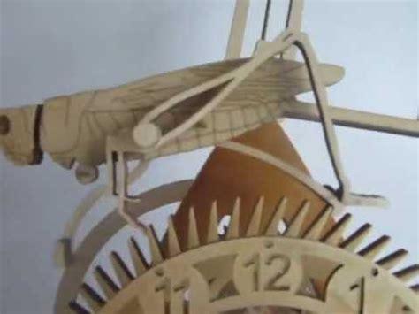 clocks wooden wall plans building  full size loft bed wooden grasshopper escapement plans