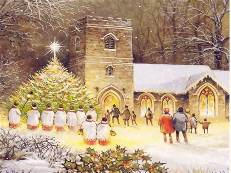 Country Christmas Backgrounds Wallpapers9