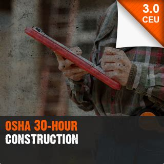 osha  hour construction
