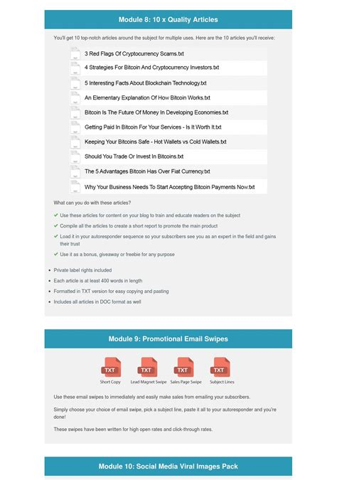 If you want to earn bitcoin free of charge, look no further than the above list! High Quality Bitcoin Profit Secrets PLR Bundle Pack for $4 - SEOClerks