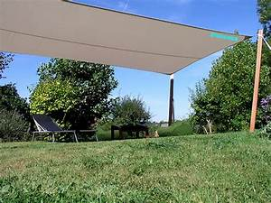 VOILE D39OMBRAGE IMPERMEABLE RECTANGLE 5m50 X 3m10