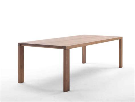 tafel essenza massief houten design tafels van arco