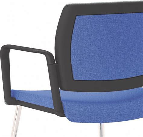 chaise de bureau top office chaise bureau pied u accoudoirs réunion ou visiteur office 605