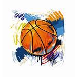 Basketball Clipart Shirt Designs Graffiti Ball Illustration
