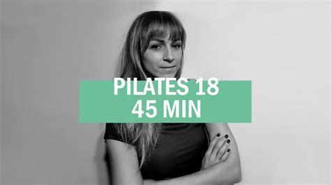PILATES 18 - MARTA MONJE - YouTube