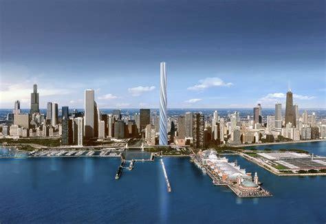 Boat Landing Lake Dubay by Wan Chicago Spire By Santiago Calatrava In Chicago