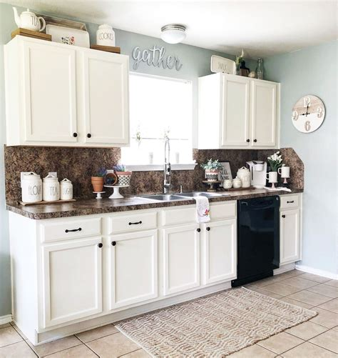Decorating Above Kitchen Cabinets by 10 Ways To Decorate Above Your Kitchen Cabinets