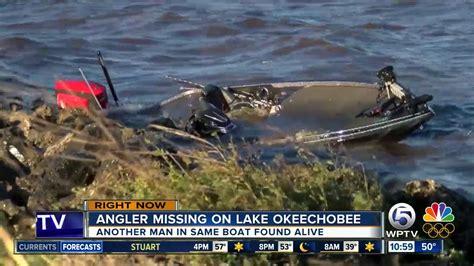 Boat Crash Lake Okeechobee crashed boat found on lake okeechobee florida fisherman