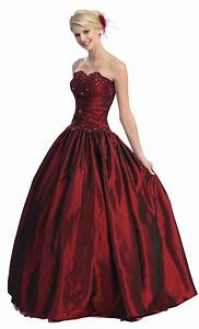 Beautiful wedding dresses ball gown strapless formal prom for Dresses for formal wedding