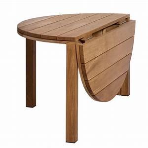 Table Pliante Ronde : table de cuisine ronde pliante table de lit ~ Teatrodelosmanantiales.com Idées de Décoration
