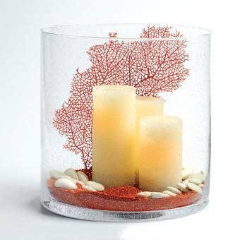 home interiors candles catalog led candles red coral red sand white rocks hand blown seed glass centerpiece home decor
