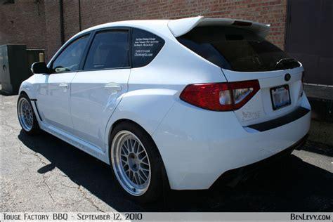 white wrx sti hatchback benlevycom