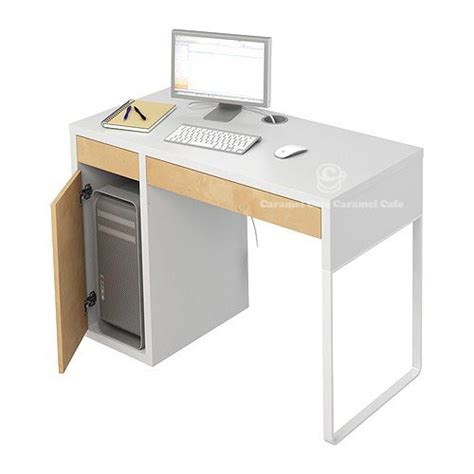 Micke Desk With Integrated Storage White Pink by Caramelcafe Rakuten Global Market Micke To Micke Desks