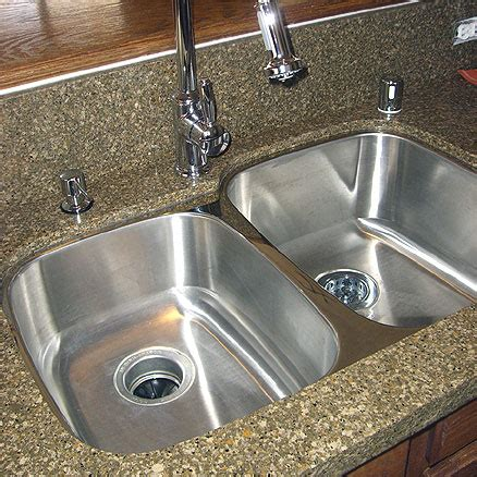 faucet placement for kitchen sink undermount kitchen sinks review the kitchen blog