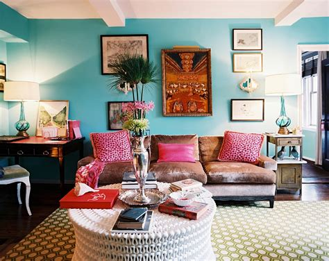 Colorful Rooms by 15 Playful Living Room Designs In Boho Style