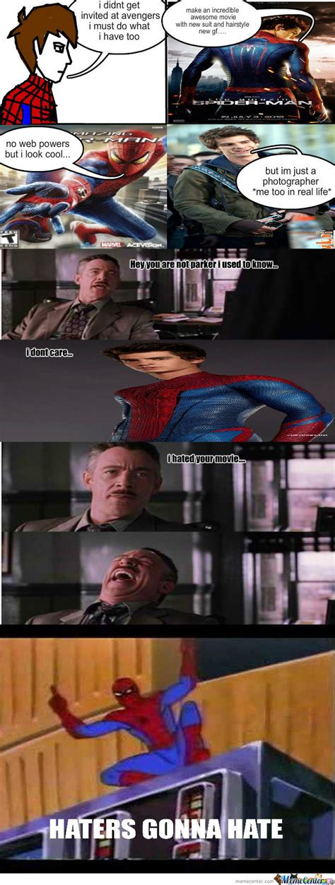 The Amazing Spiderman Memes - spiderman by bob192299 meme center