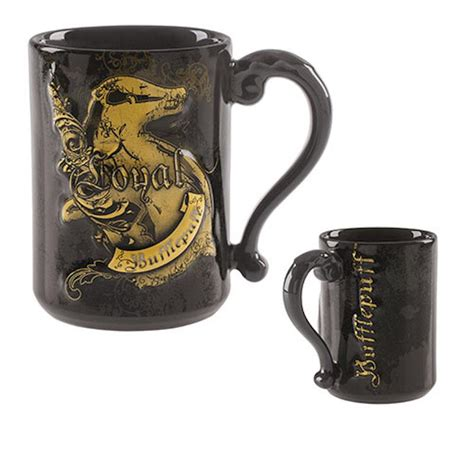 Pour in hot liquid and the charming, cartoon image is revealed. Universal Studios Wizarding World Harry Potter Hufflepuff ...