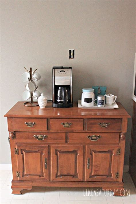 hometalk colorful farmhouse vintage coffee bar