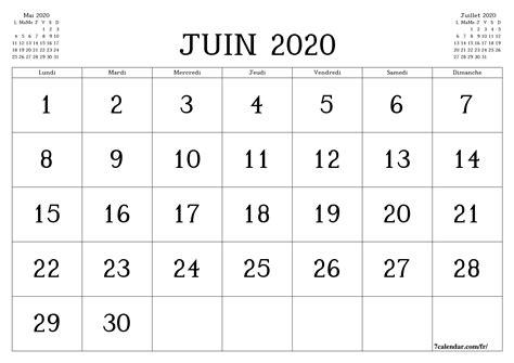 calendrier  calendrier mensuel vierge imprimable gratuit
