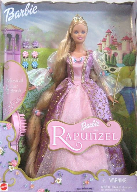 Barbies Des Films 02 Barbie, Princesse Raiponce (2002