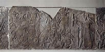 Assyrian Ashurnasirpal Relief Palace Reliefs Ii Neo