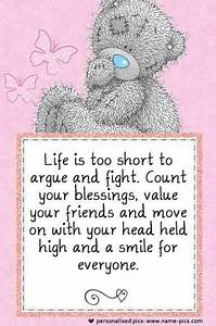 Tatty Teddy‿ ... Cute Bear Quotes