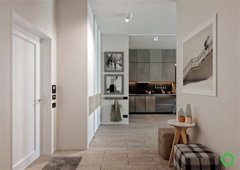 Relaxing Color Schemes In 3 Efficient Single Bedroom Apartments With Floor Plans by Home Designing Relaxing Color Schemes In 3 Efficient