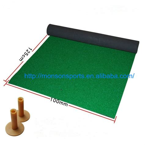 practice de golf de mat pratique golf driving tapis gazon