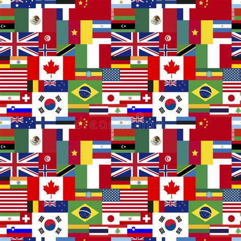 of flags of flags of world sovereign states seamless pattern stock a lo