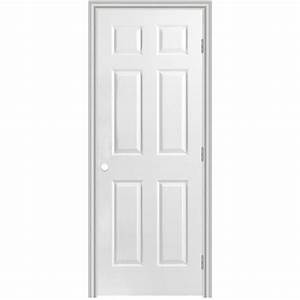 shop masonite classics 6 panel single prehung interior With 36 interior door lowes