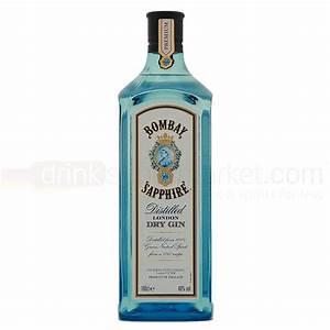 Bombay Sapphire Gin 1 Litre : Buy Cheap Price Online UK  Bombay