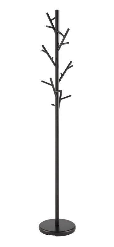 freestanding black coat rack reviews allmodern