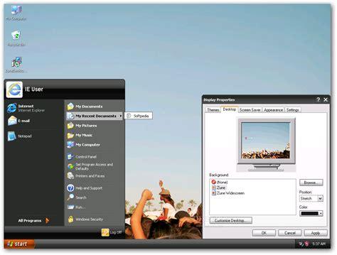 Download Microsoft Zune Theme For Winxp 1.0