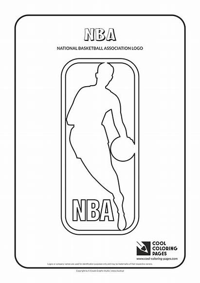 Coloring Pages Nba Logos Teams Cool Eastern